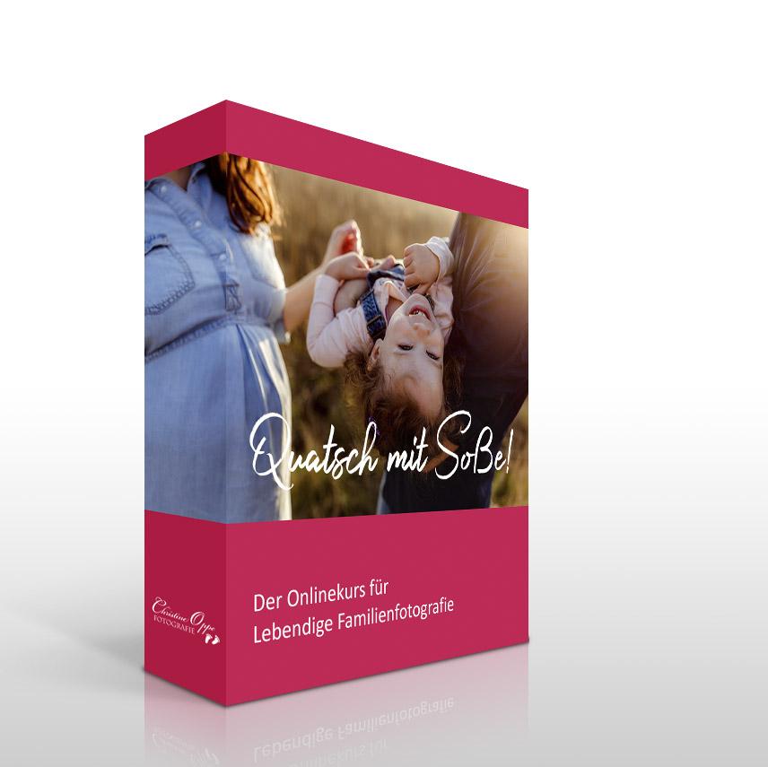 "Onlinekurs Lebendige Familienfotografie ""Quatsch mit Soße!"""